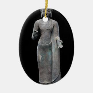 Ornamento De Cerâmica Preaching de Buddha