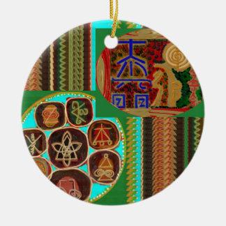 Ornamento De Cerâmica PRESENTES curas 99 do CUIDADO do vintage dos