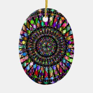 Ornamento De Cerâmica Presentes da mandala