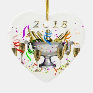 Ornamento De Cerâmica Presentes do ano novo
