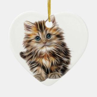 Ornamento De Cerâmica Presentes do gatinho