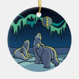 Ornamento De Cerâmica Presentes do urso da lembrança do urso do