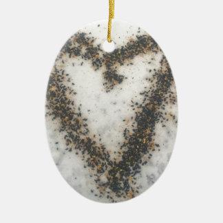 Ornamento De Cerâmica Presentes selvagens do amante do pássaro