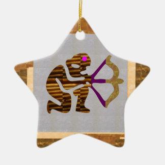 Ornamento De Cerâmica Presentes SUPERIORES do ouro do VINTAGE: Tip da