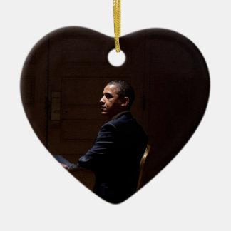 Ornamento De Cerâmica Presidente Barack Obama 12