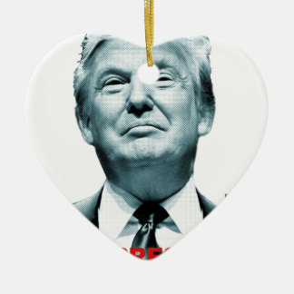 Ornamento De Cerâmica Presidente falsificado (trunfo)