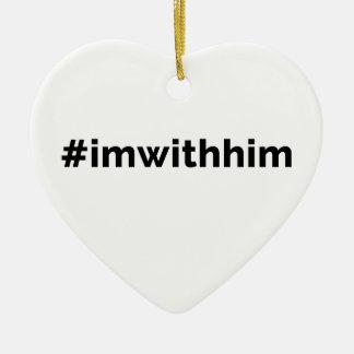Ornamento De Cerâmica Presidente Trunfo Apoio do #imwithhim