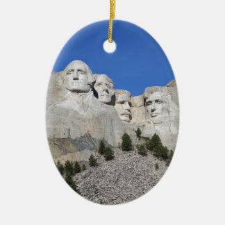 Ornamento De Cerâmica Presidentes EUA América do Monte Rushmore South