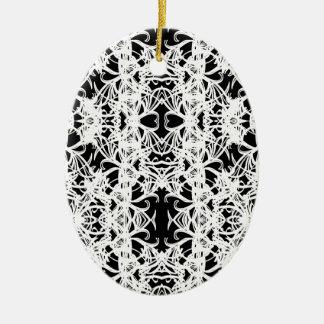 Ornamento De Cerâmica preto