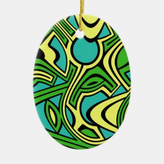 Ornamento De Cerâmica Primavera