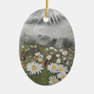 Ornamento De Cerâmica Primavera fresco