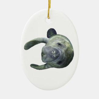 Ornamento De Cerâmica Primaveras do peixe-boi
