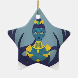 Ornamento De Cerâmica Princesa da lua