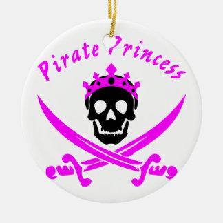 Ornamento De Cerâmica Princesa do pirata