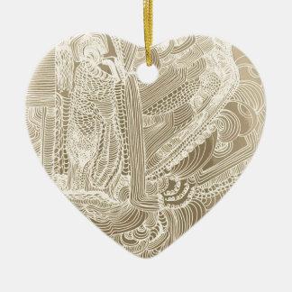 Ornamento De Cerâmica Princesa romana