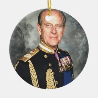 Ornamento De Cerâmica Príncipe Philip
