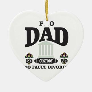 Ornamento De Cerâmica pro equidade do pai na corte