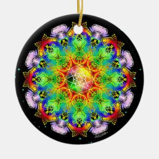 Ornamento De Cerâmica Processo orgânico/alquimia da alegria