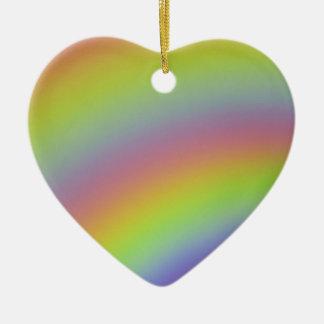 Ornamento De Cerâmica Produto do arco-íris