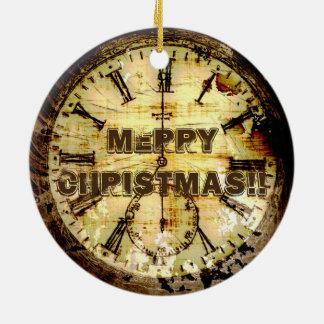 Ornamento De Cerâmica Produto manufacturado do tempo - relógio de bolso