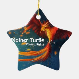 Ornamento De Cerâmica Produtos da tartaruga da mãe