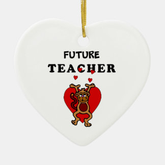 Ornamento De Cerâmica Professor futuro