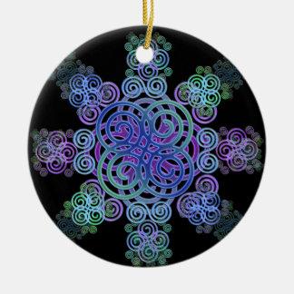 Ornamento De Cerâmica Projeto celta decorativo