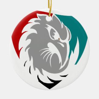Ornamento De Cerâmica Protetor da protecção de segurança do falcão
