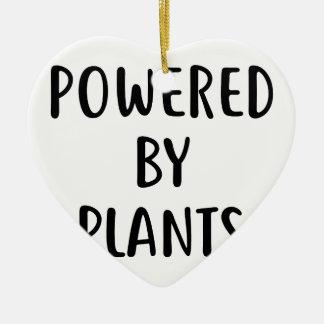 Ornamento De Cerâmica Psto por plantas