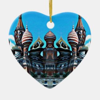 Ornamento De Cerâmica Psycgedelic Moscovo