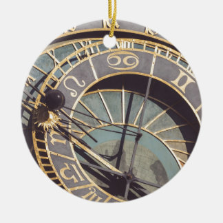 Ornamento De Cerâmica Pulso de disparo astronômico de Praga