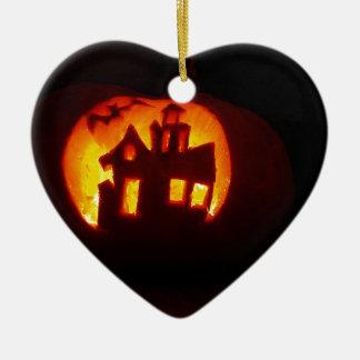 Ornamento De Cerâmica Pumpkin_craft_for_Halloween