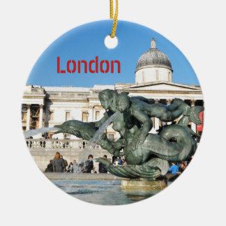 Ornamento De Cerâmica Quadrado de Trafalgar em Londres, Reino Unido