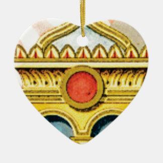 Ornamento De Cerâmica quadro ornamentado