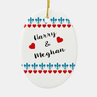 Ornamento De Cerâmica Quando Harry encontrou Meghan