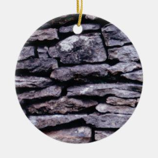 Ornamento De Cerâmica quebra-cabeça da rocha