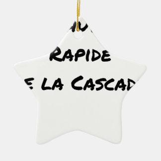 Ornamento De Cerâmica QUEDA RÁPIDA da CASCATA - Jogos de palavras
