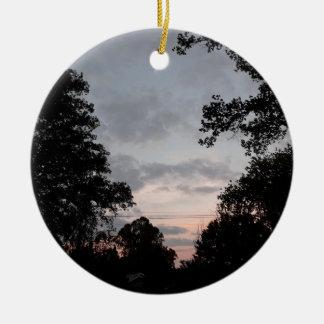 Ornamento De Cerâmica Quedas da noite