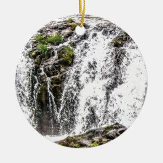 Ornamento De Cerâmica quedas de fluxo livres