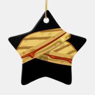 Ornamento De Cerâmica Queijo grelhado caro da comida do pulso aleatório