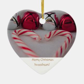 Ornamento De Cerâmica Querido do Feliz Natal!
