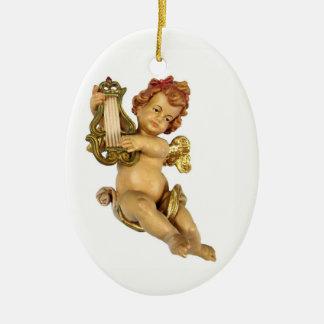 Ornamento De Cerâmica Querubim alemão velho