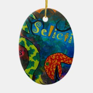 Ornamento De Cerâmica Quexius dos ipos de Selictium