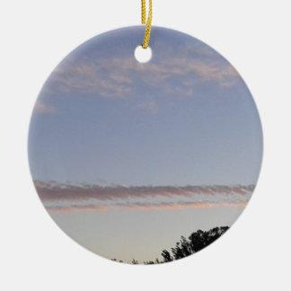 Ornamento De Cerâmica Raia da nuvem