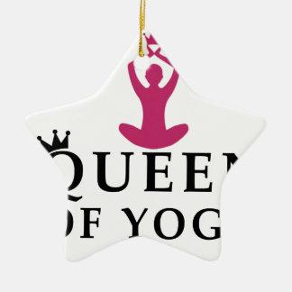 Ornamento De Cerâmica rainha da coroa da ioga