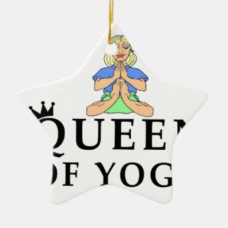 Ornamento De Cerâmica rainha da ioga