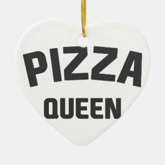 Ornamento De Cerâmica Rainha da pizza