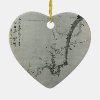 Ornamento De Cerâmica Ramo da ameixa - Yi Yuwon