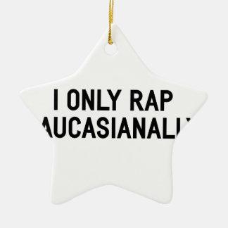 Ornamento De Cerâmica Rap Caucasianally