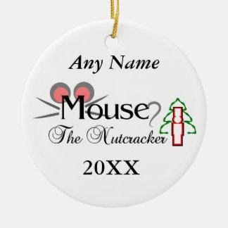 Ornamento De Cerâmica Rato do Nutcracker